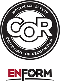 Enform Workplace Safety Certificate of Recognition